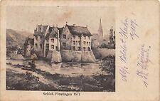 AK château Finstingen 1571 timbres I. infanterie de 107. 58.inf. div. 1916