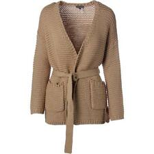 Vince Camuto 6743 Womens Tan Knit Open Front Cardigan Sweater Top XS BHFO