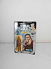 Vintage 1977 Original Star Wars Chewbacca Complete With 12 Back on Card