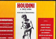 CV SPECIAL - HOUDINI - A CIRCUS OPERA - PETER SCHAT - HANS VONK 3LP - NM