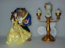 Disney Belle Beauty And The Beast Lumiere Light Up Candle Figures Ornaments