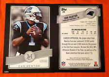 2015 Topps Museum 5x7 CAM NEWTON Panthers #28 (#D /49 Made) Collection Football