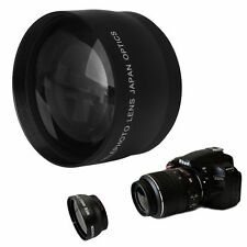 52mm High Speed 2x Telephoto Lens for Nikon AF-S DX Nikkor 18-55mm,AF-S 55-200mm