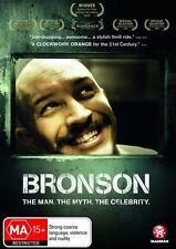 Bronson NEW R4 DVD the man the myth the celebrity BRAND NEW!