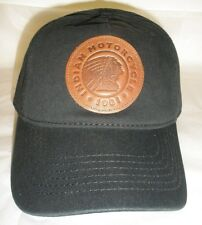 Indian Motorcycle Leather Patch Hat (2863999) / NWT