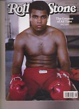 ROLLING STONE MAGAZINE #1264 JULY 1st 2016, MOHAMMED ALI 1942-16 COVER NO LABEL.