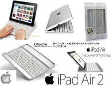 OFERTA TECLADO IPAD5 IPAD AIR INALAMBRICO ESPAÑOL Ñ FUNDA BLUETOOTH