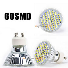 New Natural White 4W GU10 180° Spot Light Downlight LED Bulb 60 3528 SMD 220V