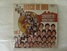 V/A DISCO DE ORO SONIDOS DE MONTERREY Vol 2  ECO EXCELLENT  LP