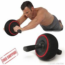 Abdominal Roller Wheel Machine Ab Workout Fitness System Home Exercise Equipment