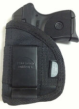Inside Pant IWB Gun Holster fits Beretta Bobcat with laser use L or R hand draw