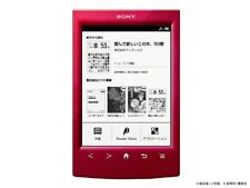 SONY e-book reader Wi-Fi Model PRS-T2 / RC Japan NEW(Red A638