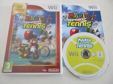 MARIO POWER TENNIS - NINTENDO WII - JEU WII PAL FR COMPLET NINTENDO SELECTS