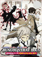 Bungou Stray Dogs (Season 1 + 2) DVD (Vol : 1 to 24 end) with English Subtitle