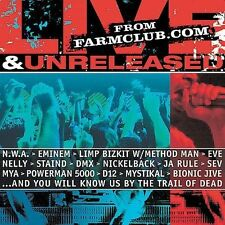 Zz/Various Artists - Farmclub.com Live & Unrel (2002) - Used - Compact Disc