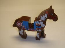 Lego Brown Indian Horse minifigure animal cowboy western new  6748 , 6746 , 6748