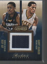 RUDY GAY/DANNY GRANGER 12-13 TIMELESS TREASURES REVOLUTION MATERIAL JERSEY#17/75