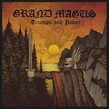 "Grand Magus "" Triumph and Power "" Patch/Sew-on Patch 602471 #"