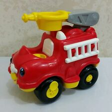 Fisher Price Little People Red Fire Truck Engine Lights Sounds Toy