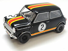 Scalextric Mini Cooper S #2 - 1964 ATCC Mini Coopers W/ Lights 1/32 Slot Car