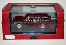 FIAT 2300 FAMILIARE 1963 ROSSO AMARANTO 1/43 STARLINE 530217