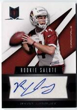 Ryan Lindley 2012 Panini Momentum AUTOGRAPH Auto RC #'d 14/99 His JERSEY Number!