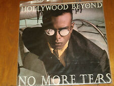 "HOLLYWOOD BEYOND *RARE 7"" 45 ' NO MORE TEARS ' 1986 MINT"