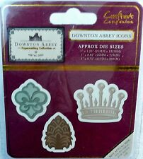 Crafter's Companion Downton Abbey ICONS Metal Dies - 3 pieces