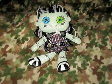 """2013 Monster High Stuffed Doll Rag Plush FRANKIE STEIN Mattel Approximately 18"""""""