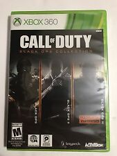 Call of Duty Black Ops TRILOGY I II III Collection (Xbox 360) Brand New Sealed