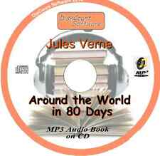 Around the World in 80 Days - Jules Verne  MP3 Audio Book CD