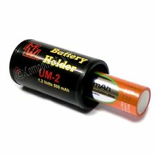C size battery NiCd/NiMH AA - C converter pack of 4