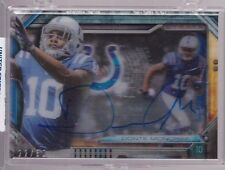 2014 Topps Strata Shadowbox Donte Moncrief On Card Auto Rc Serial # to 50