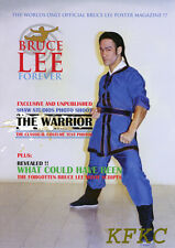 "BRUCE LEE FOREVER Fold-Out Poster-Magazine ""THE WARRIOR"" Special w/Rare Photo"