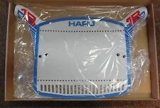 Haro Number Plate Series 1B Retro Blue for BMX Racing Old Mid School Bikes