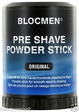 BLOC MEN © pre shave Powder Stick ORIGINALE 60g (100g = 14,92 euro) WW shipment