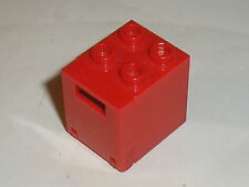 Boite rouge LEGO red container box 4345b
