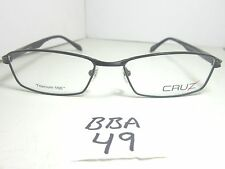 New CRUZ Eyewear Eyeglass Frame I-516 Black Titanium 100 Men's (BBA-49)