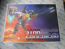 Gaogaigar 1/144 Scale Star Gaogaigar With Gatling Driver Model Kit Aoshima Japan