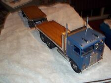 Smith Miller K-W flat bed truck and trailer  mint (original box ) brand new!!!!