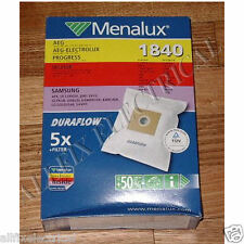 Samsung, Sanyo, Nilfisk High Filtration Synthetic Vacuum Cleaner Bags # 1840