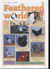 FEATHERED WORLD MAGAZINE - July 2003  Poultry Pigeons