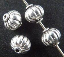 80pcs Tibetan Silver Nice Bicone Spacer Beads 7x7mm 1656-1