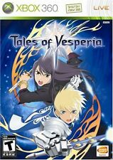 Tales of Vesperia (Xbox 360 Video Game EPIC RPG Anime Fantasy) Brand NEW