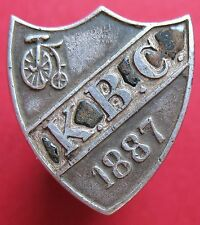 Poland under Austro-Hungarian Empire - 1887 Cyclist Club K.B.C.- more on ebay.pl