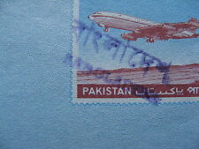 BANGLADESH, prestamped aerogramme Pakistan, in English & Bengali, aeroplane