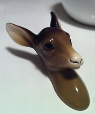 Vintage Kitsch Cute Midwinter Deer Head Bambi Vintage Shop Display