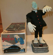 Blushing Frankenstein-Mod Monster Battery-Op Toy-1960s-NM/MIB