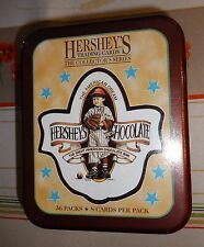 HERSHEY'S TRADING CARDS -- COLLECTOR'S SERIES -- SEALED TIN