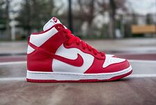 NIKE DUNK Retro  Premium HIGH QS St JOHN sz 10 Basketball 850477-102 NCAA
